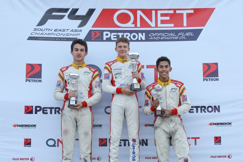 Formula 4 SEA – Ghiretti wins 5 out of 6 races in Thailand, Malaysia's Yoong and Musyaffa on podium Image #880995