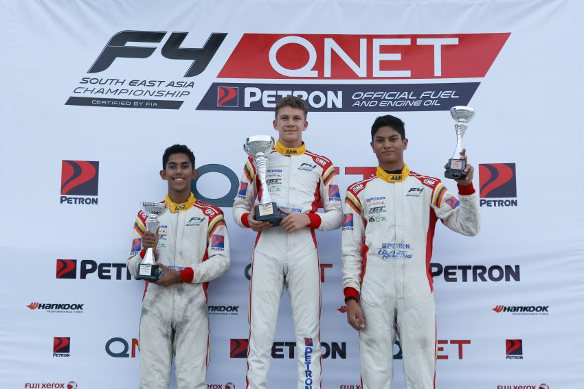 Formula 4 SEA – Ghiretti wins 5 out of 6 races in Thailand, Malaysia's Yoong and Musyaffa on podium Image #880999
