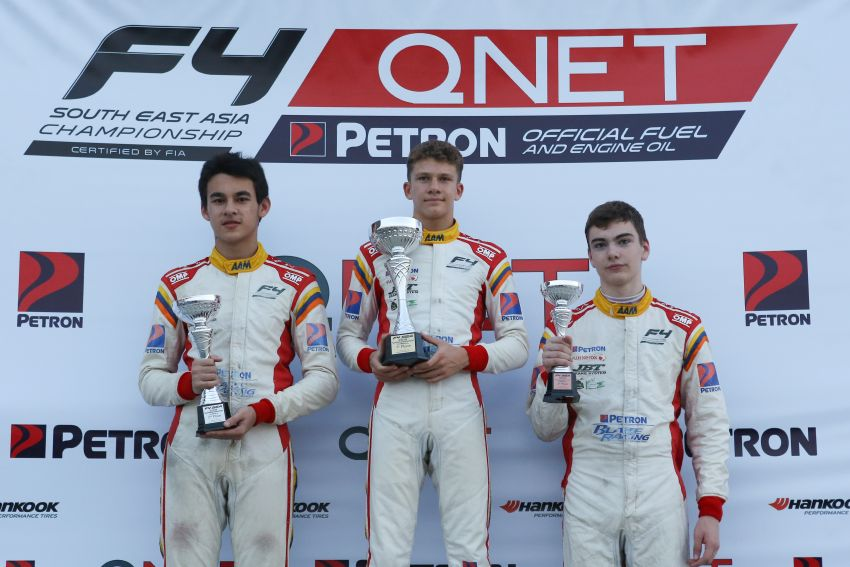 Formula 4 SEA – Ghiretti wins 5 out of 6 races in Thailand, Malaysia's Yoong and Musyaffa on podium Image #881003