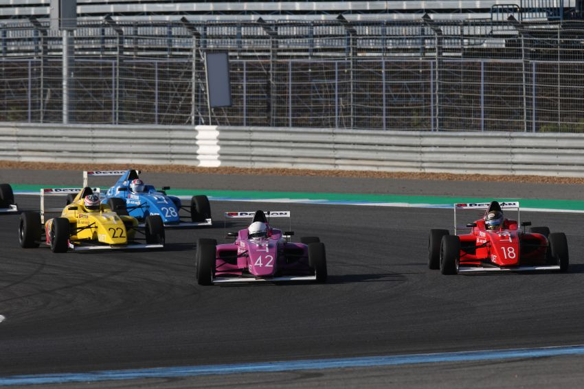 Formula 4 SEA – Ghiretti wins 5 out of 6 races in Thailand, Malaysia's Yoong and Musyaffa on podium Image #880870