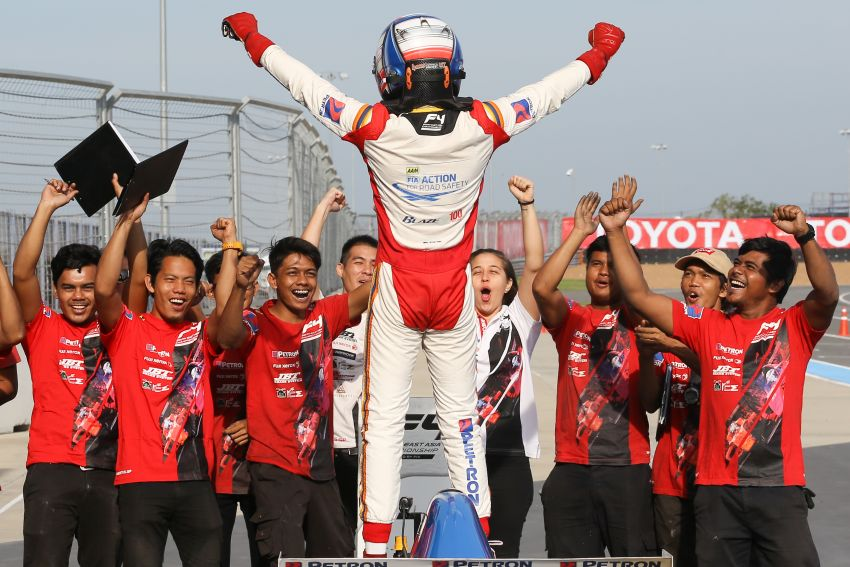 Formula 4 SEA – Ghiretti wins 5 out of 6 races in Thailand, Malaysia's Yoong and Musyaffa on podium Image #880981