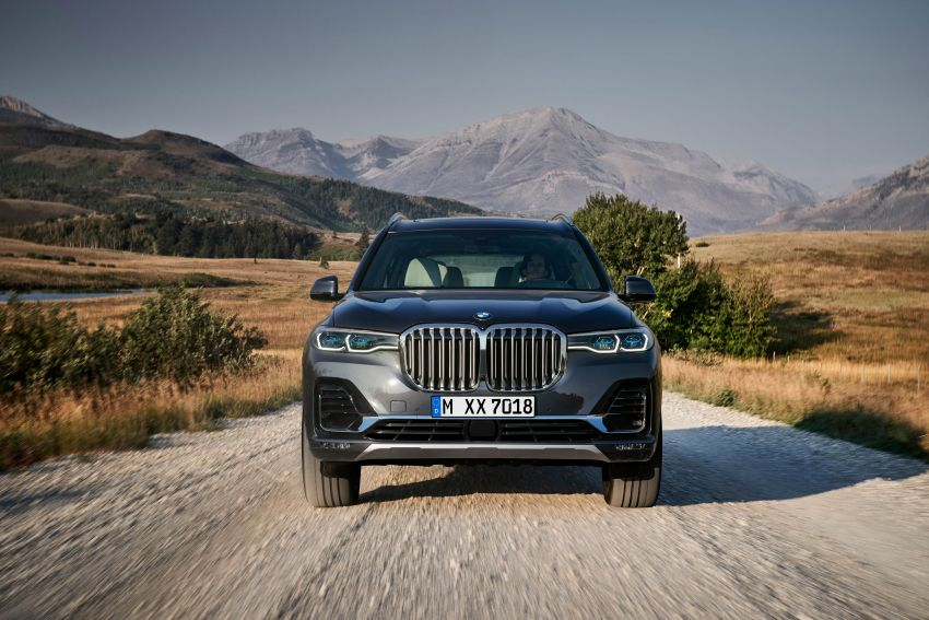 G07 BMW X7 makes its official debut – three-row SUV Image #874126