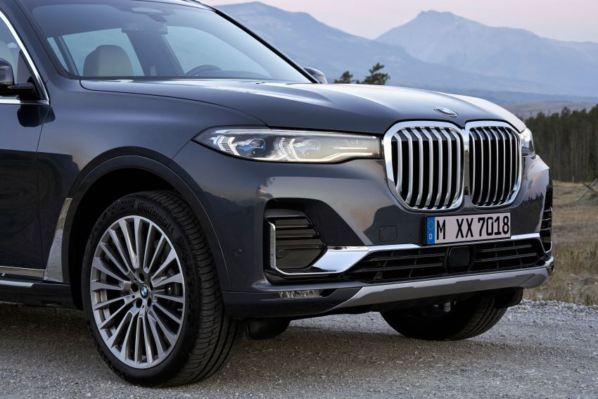 G07 BMW X7 makes its official debut – three-row SUV Image #874137