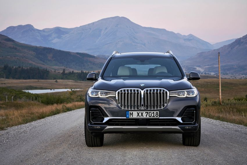 G07 BMW X7 makes its official debut – three-row SUV Image #874139