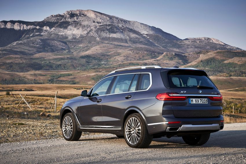 G07 BMW X7 makes its official debut – three-row SUV Image #874143