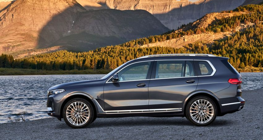G07 BMW X7 makes its official debut – three-row SUV Image #874144
