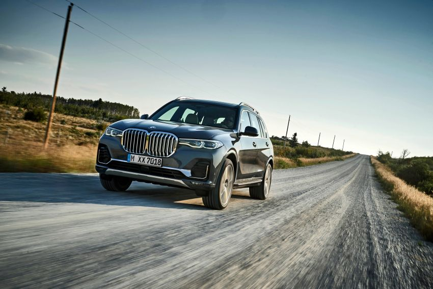 G07 BMW X7 makes its official debut – three-row SUV Image #874127