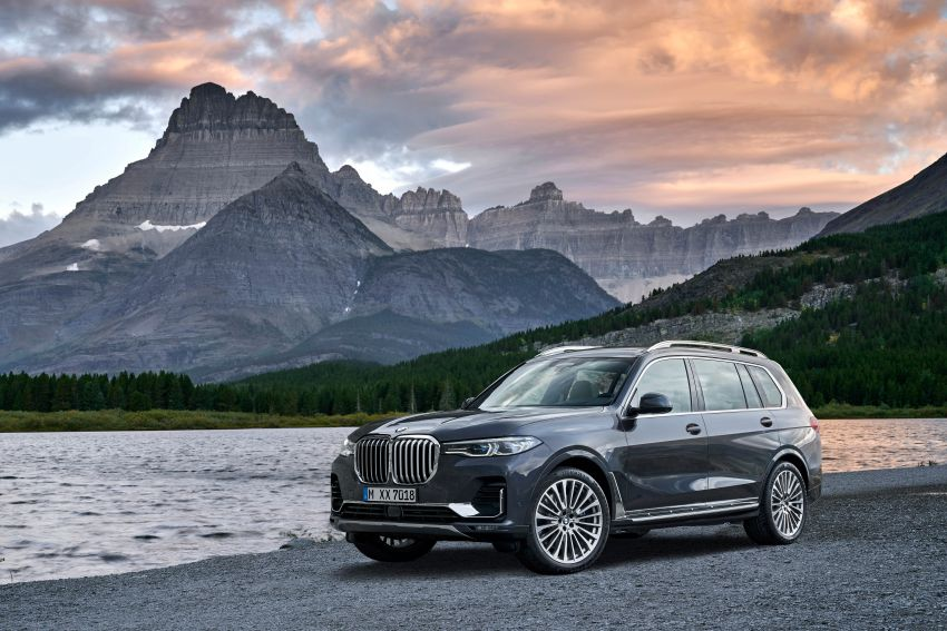 G07 BMW X7 makes its official debut – three-row SUV Image #874148