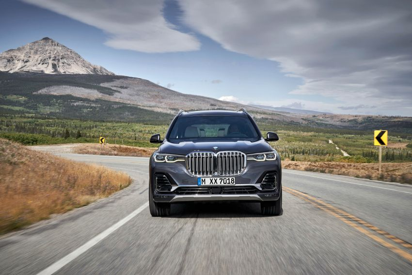 G07 BMW X7 makes its official debut – three-row SUV Image #874154
