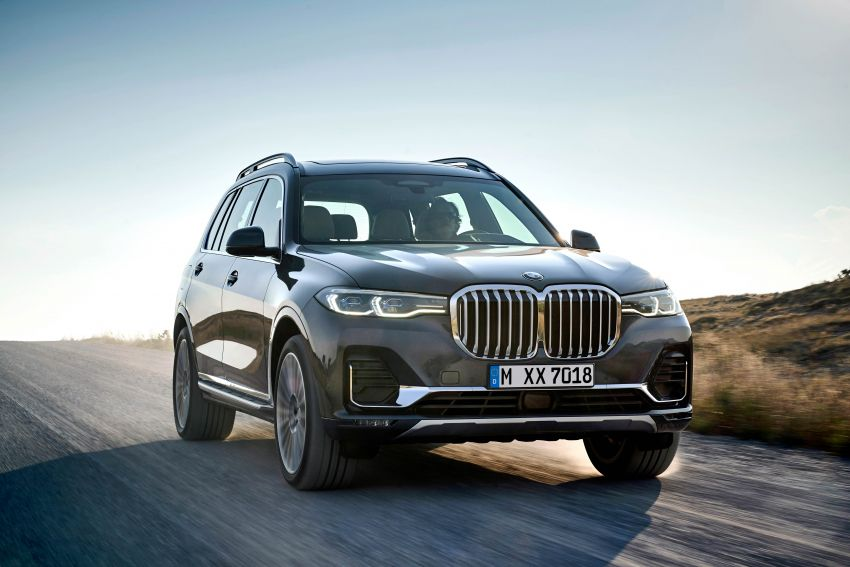 G07 BMW X7 makes its official debut – three-row SUV Image #874129