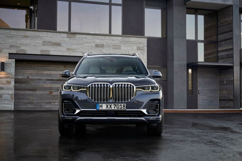 G07 BMW X7 makes its official debut – three-row SUV Image #874130