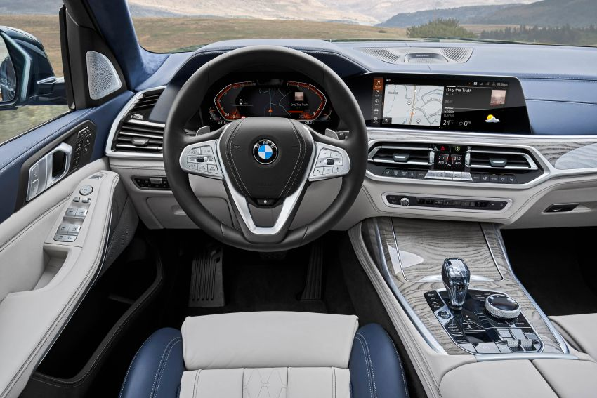 G07 BMW X7 makes its official debut – three-row SUV Image #874168