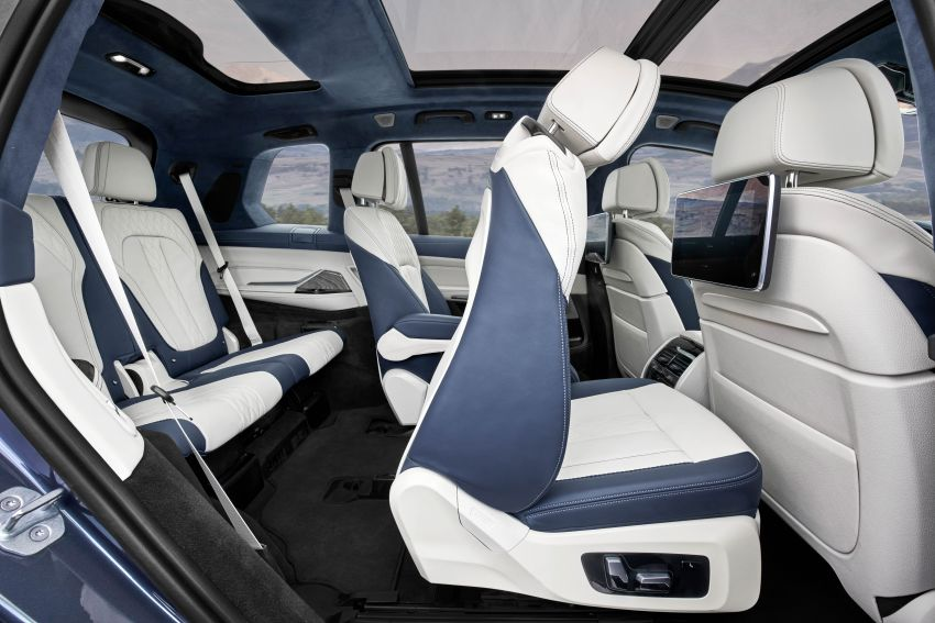 G07 BMW X7 makes its official debut – three-row SUV Image #874172