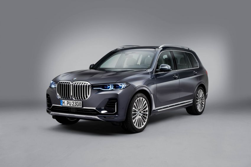 G07 BMW X7 makes its official debut – three-row SUV Image #874176