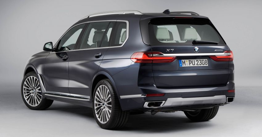 G07 BMW X7 makes its official debut – three-row SUV Image #874177