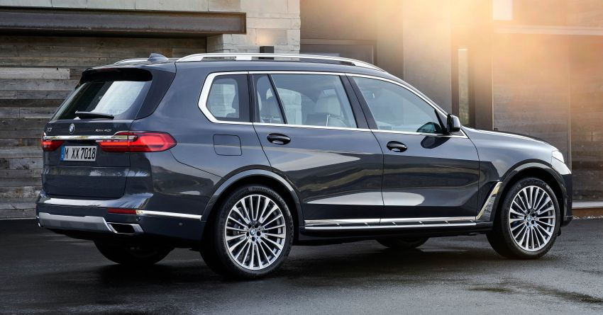 G07 BMW X7 makes its official debut – three-row SUV Image #874131