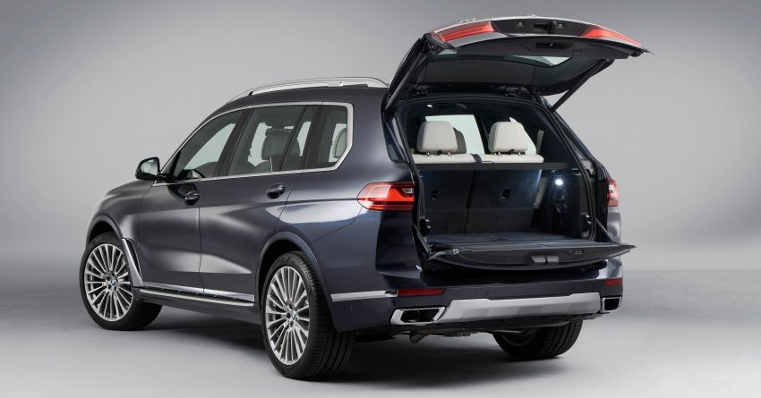 G07 BMW X7 makes its official debut – three-row SUV Image #874178