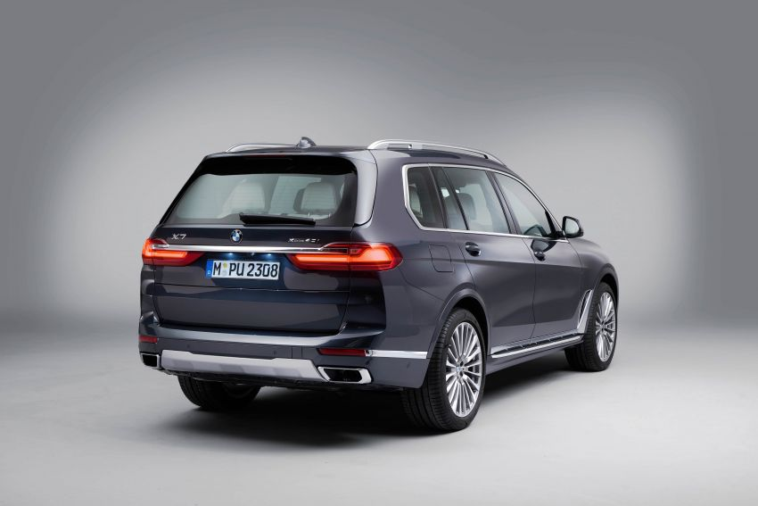G07 BMW X7 makes its official debut – three-row SUV Image #874180