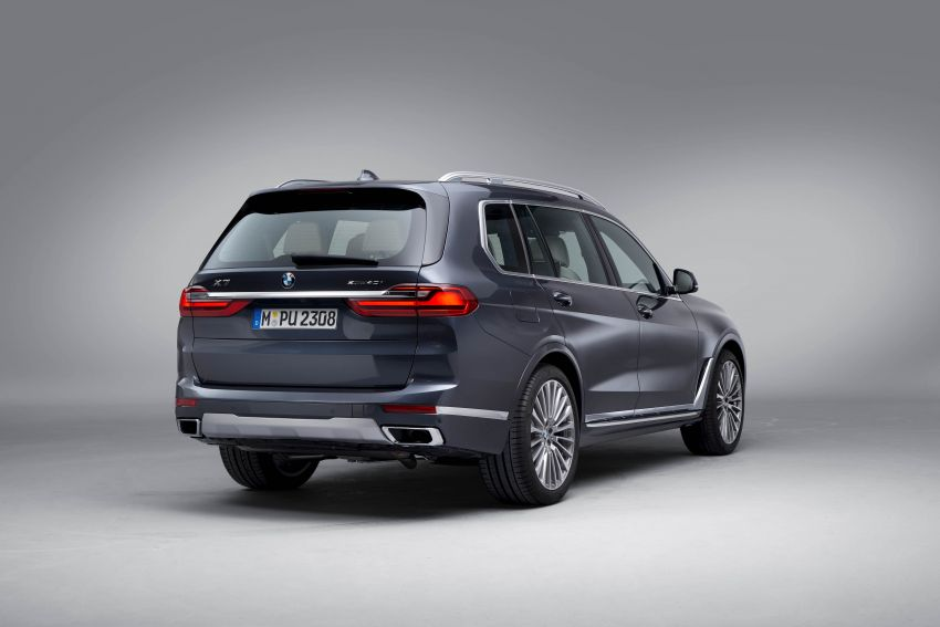 G07 BMW X7 makes its official debut – three-row SUV Image #874182