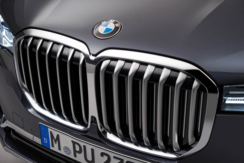 G07 BMW X7 makes its official debut – three-row SUV Image #874185