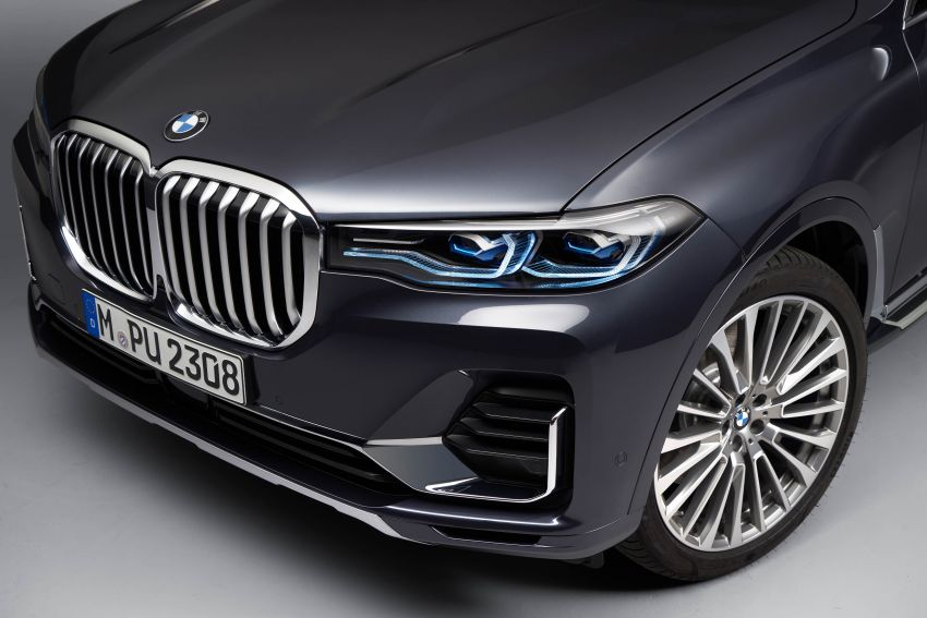 G07 BMW X7 makes its official debut – three-row SUV Image #874188