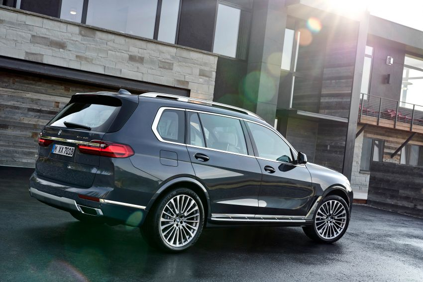 G07 BMW X7 makes its official debut – three-row SUV Image #874132