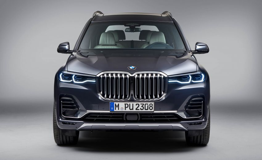 G07 BMW X7 makes its official debut – three-row SUV Image #874191