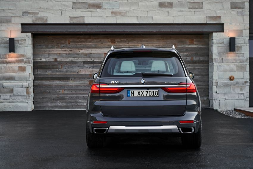 G07 BMW X7 makes its official debut – three-row SUV Image #874133