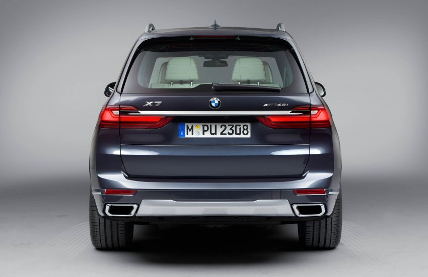 G07 BMW X7 makes its official debut – three-row SUV Image #874211