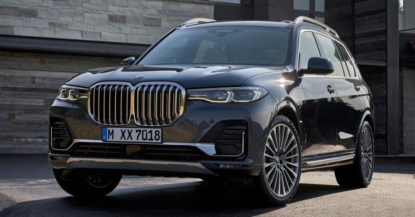 G07 BMW X7 makes its official debut – three-row SUV Image #874134