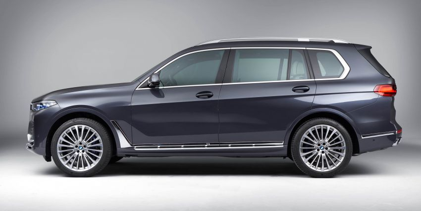 G07 BMW X7 makes its official debut – three-row SUV Image #874218