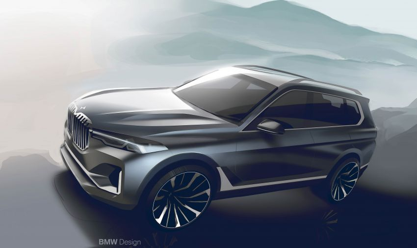 G07 BMW X7 makes its official debut – three-row SUV Image #874219
