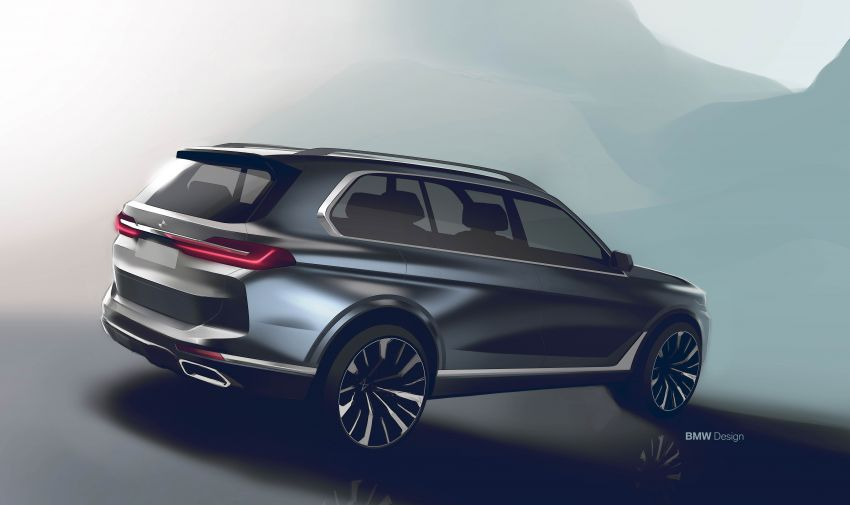 G07 BMW X7 makes its official debut – three-row SUV Image #874220