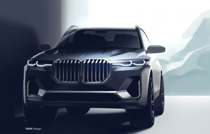 G07 BMW X7 makes its official debut – three-row SUV Image #874222