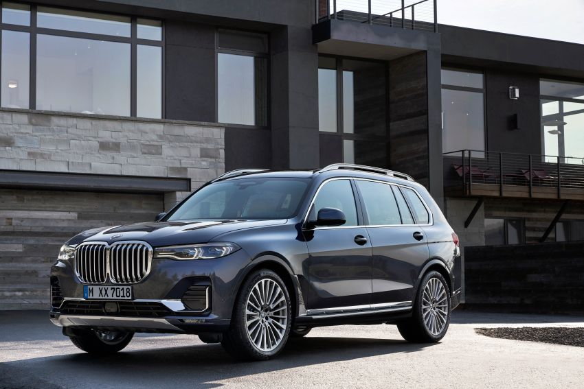 G07 BMW X7 makes its official debut – three-row SUV Image #874135