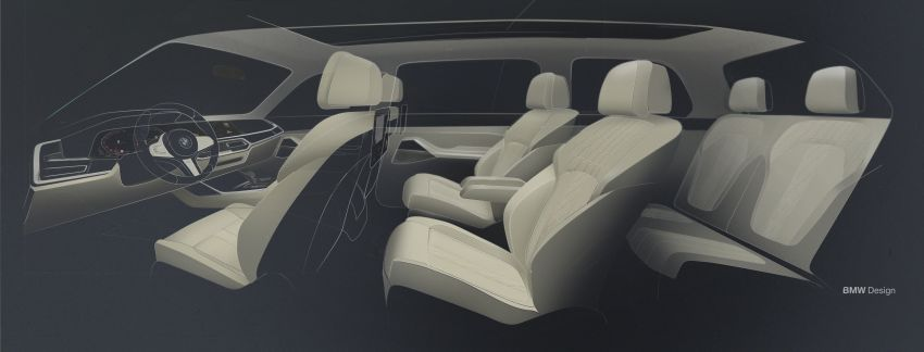 G07 BMW X7 makes its official debut – three-row SUV Image #874240