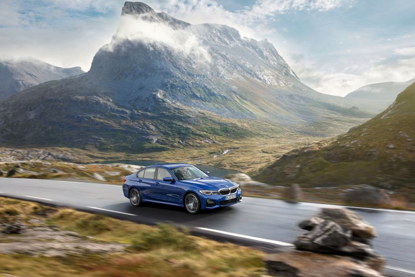 G20 BMW 3 Series officially revealed – up to 55 kg lighter with new engines, suspension, technologies Image #867466