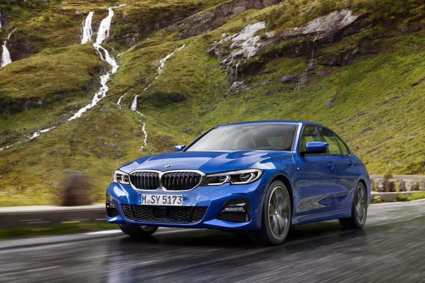 G20 BMW 3 Series officially revealed – up to 55 kg lighter with new engines, suspension, technologies Image #867475