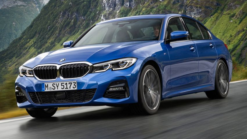 G20 BMW 3 Series officially revealed – up to 55 kg lighter with new engines, suspension, technologies Image #867476