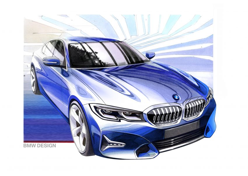 G20 BMW 3 Series officially revealed – up to 55 kg lighter with new engines, suspension, technologies Image #867602