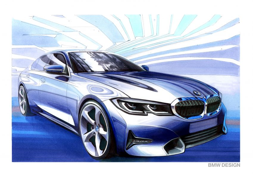 G20 BMW 3 Series officially revealed – up to 55 kg lighter with new engines, suspension, technologies Image #867604