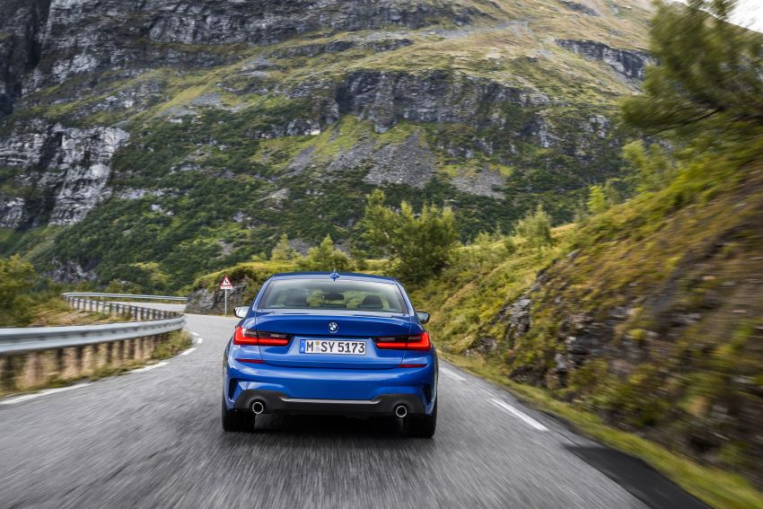 G20 BMW 3 Series officially revealed – up to 55 kg lighter with new engines, suspension, technologies Image #867477