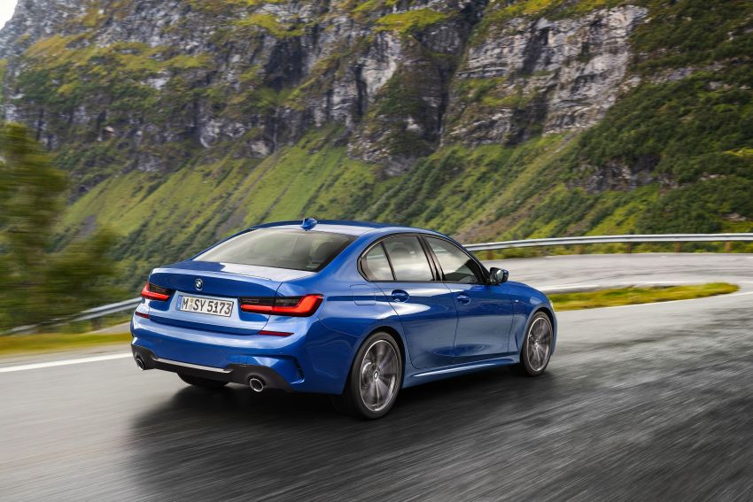 G20 BMW 3 Series officially revealed – up to 55 kg lighter with new engines, suspension, technologies Image #867478