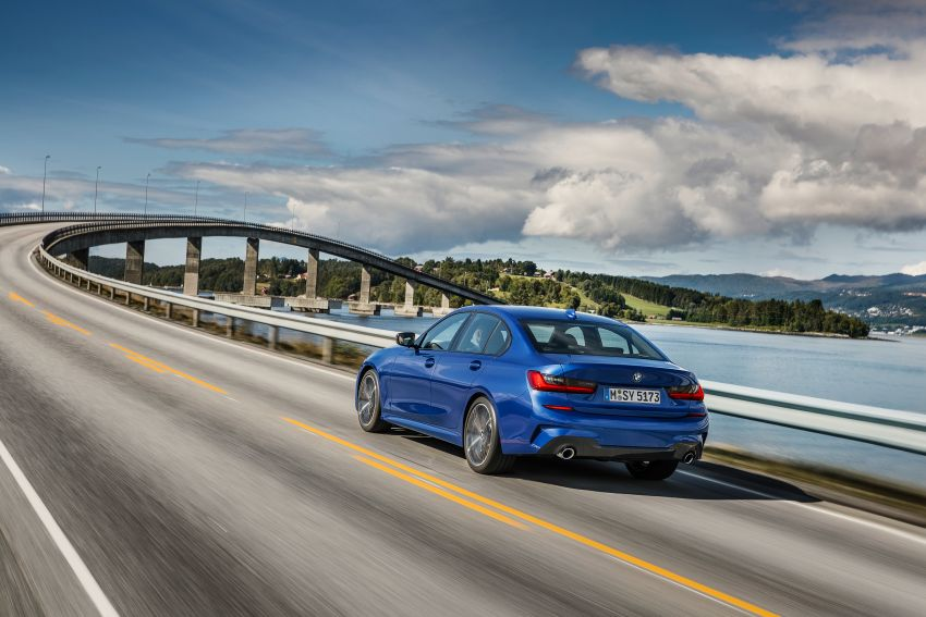 G20 BMW 3 Series officially revealed – up to 55 kg lighter with new engines, suspension, technologies Image #867479