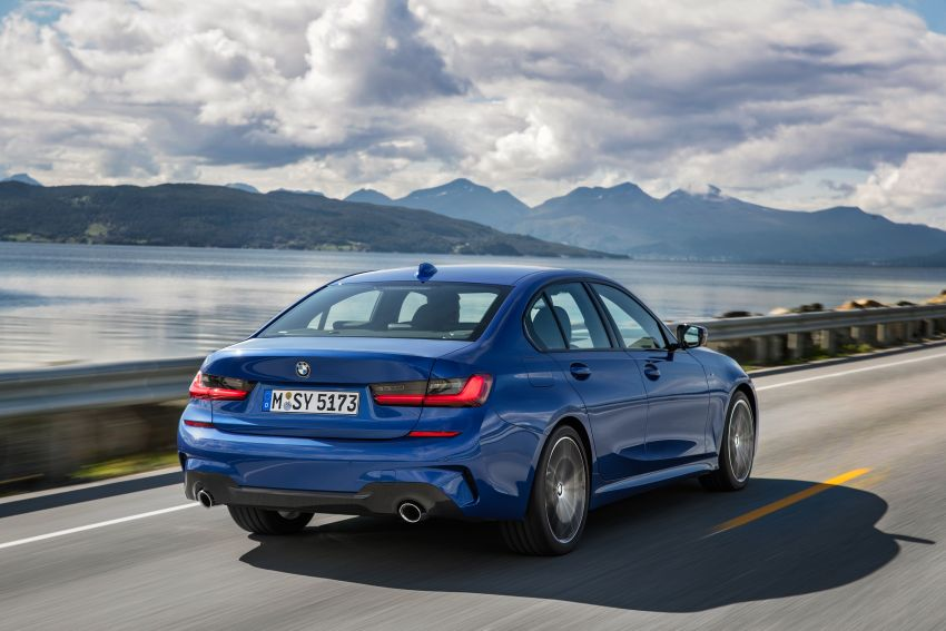 G20 BMW 3 Series officially revealed – up to 55 kg lighter with new engines, suspension, technologies Image #867480