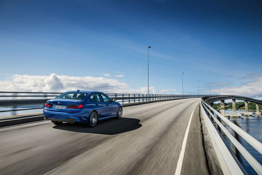 G20 BMW 3 Series officially revealed – up to 55 kg lighter with new engines, suspension, technologies Image #867481