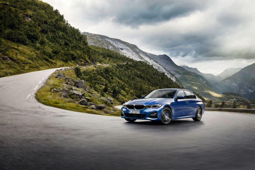 G20 BMW 3 Series officially revealed – up to 55 kg lighter with new engines, suspension, technologies Image #867483