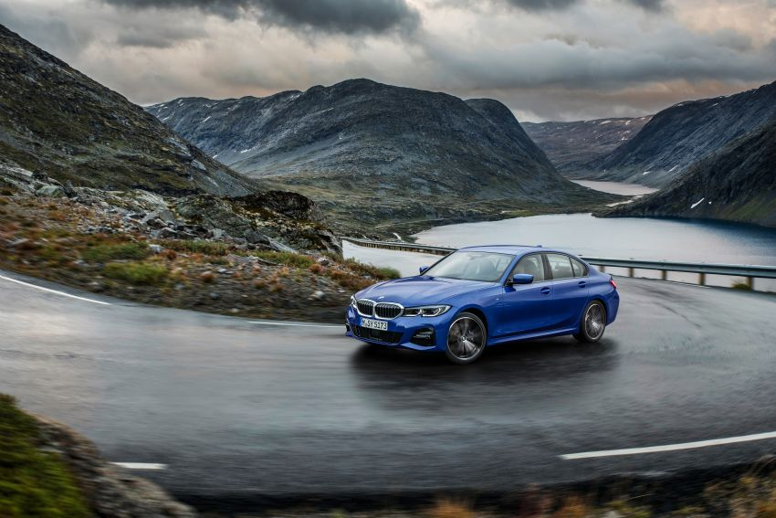 G20 BMW 3 Series officially revealed – up to 55 kg lighter with new engines, suspension, technologies Image #867467