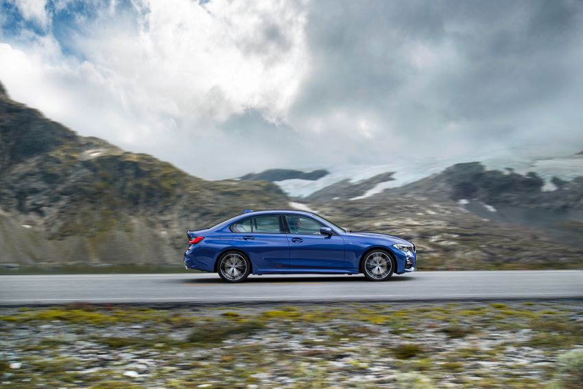 G20 BMW 3 Series officially revealed – up to 55 kg lighter with new engines, suspension, technologies Image #867485