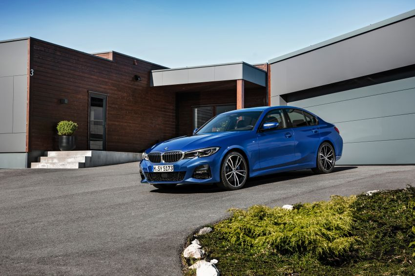 G20 BMW 3 Series officially revealed – up to 55 kg lighter with new engines, suspension, technologies Image #867486